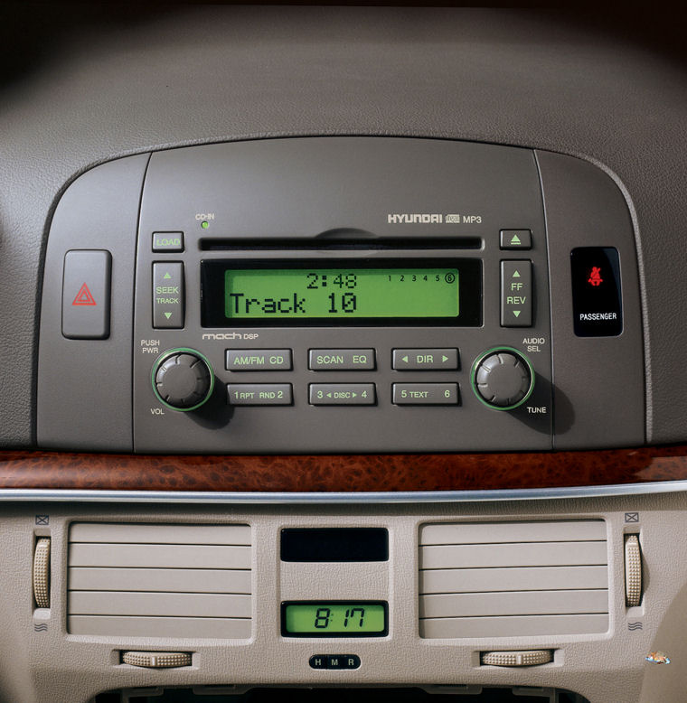 2007 Hyundai Sonata Dashboard Picture Pic Image