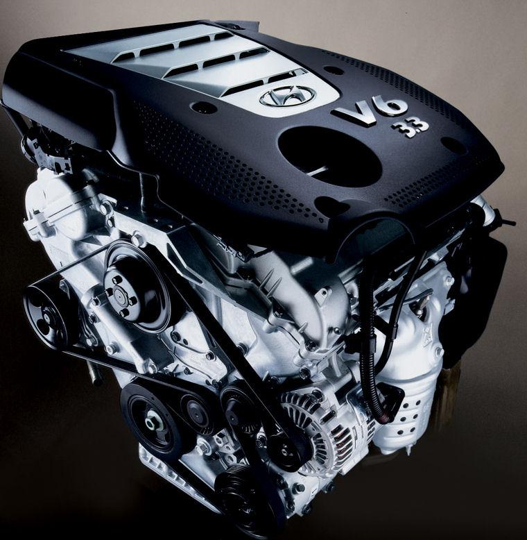 2007 Hyundai Sonata 3.3l 6-cylinder Engine - Picture / Pic / Image