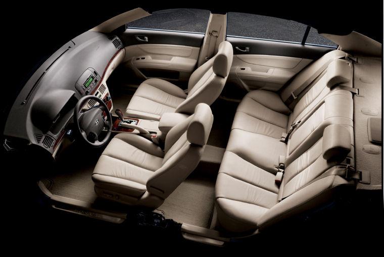 2008 Hyundai Sonata Interior Picture