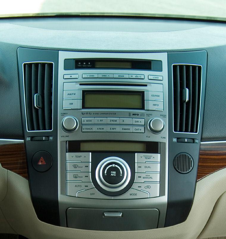 2008 Hyundai Veracruz Dashboard Picture Pic Image
