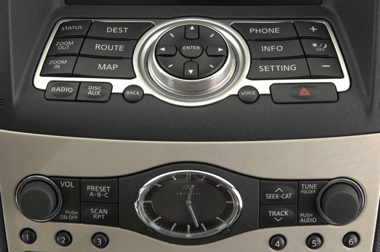 2008 Infiniti G35 Sedan Dashboard Picture
