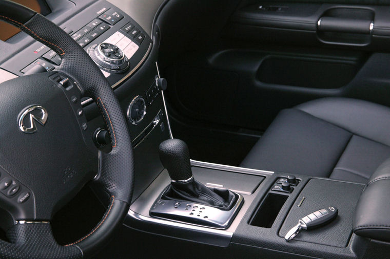 Toyota Large Suv >> 2006 Infiniti M35 Interior - Picture / Pic / Image