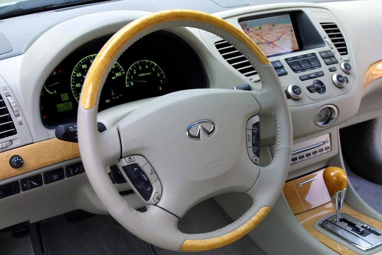 2002 Infiniti Q45 Interior Picture Pic Image