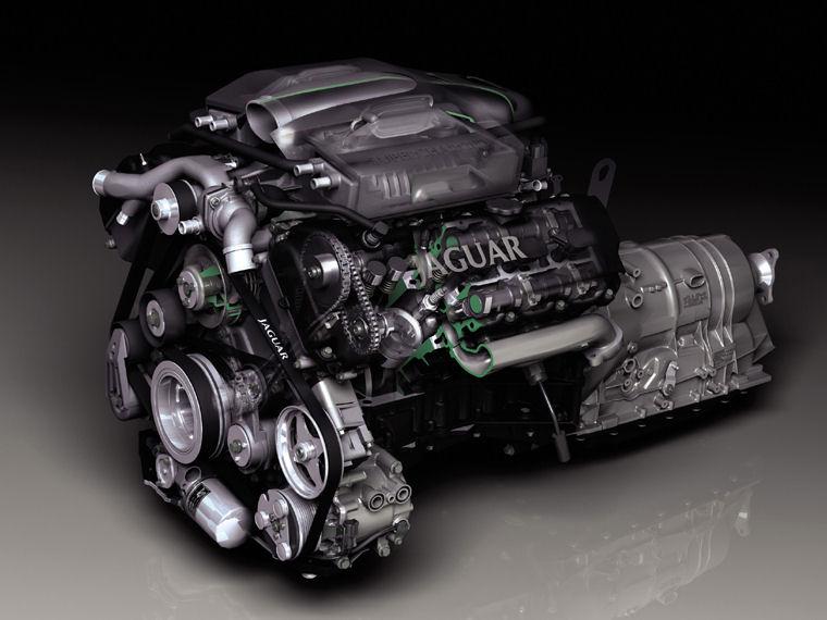 2004 jaguar xj8 v8 engine picture pic image. Black Bedroom Furniture Sets. Home Design Ideas