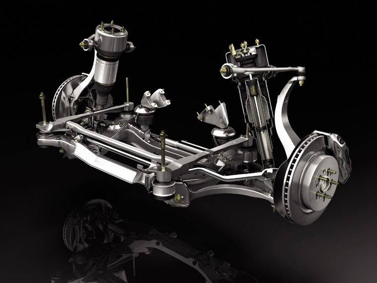 2004 Jaguar Xj8 Front Suspension   Pic    Image