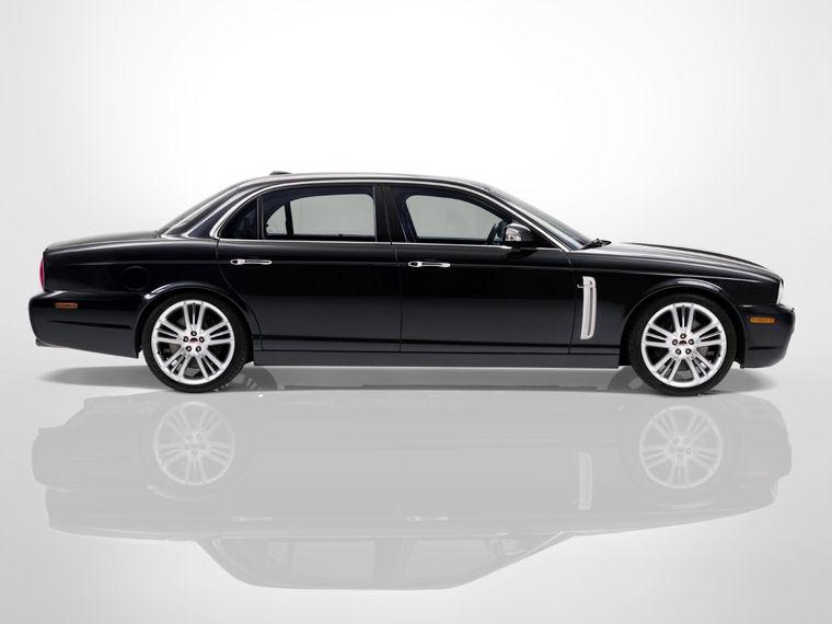 2009 Jaguar Xj Super V8 Portfolio Picture Pic Image