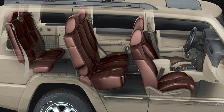 2008 jeep commander limited 5 7 v8 4wd interior picture pic image. Black Bedroom Furniture Sets. Home Design Ideas