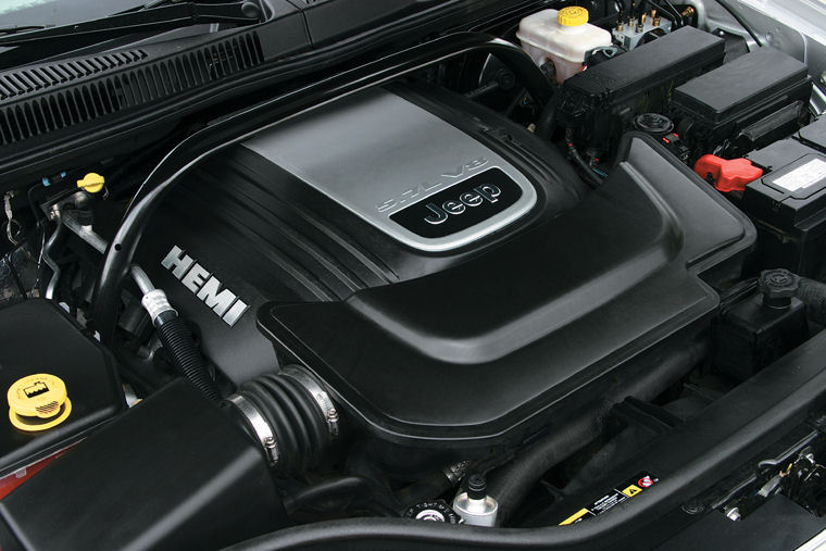 2005 jeep grand cherokee 5 7l v8 hemi engine picture pic image. Black Bedroom Furniture Sets. Home Design Ideas