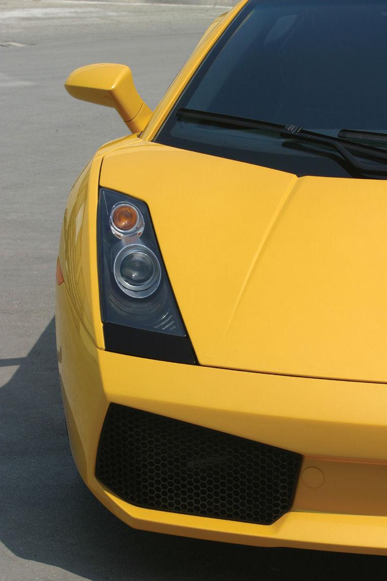 Mitsubishi Electric Car >> 2008 Lamborghini Gallardo Headlight - Picture / Pic / Image