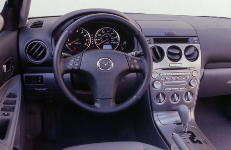 2003 Mazda 6 Cockpit - Picture / Pic / Image