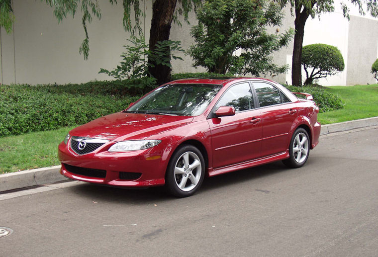 2003 mazda 6 sedan 2 3 related infomation specifications weili automotive network. Black Bedroom Furniture Sets. Home Design Ideas
