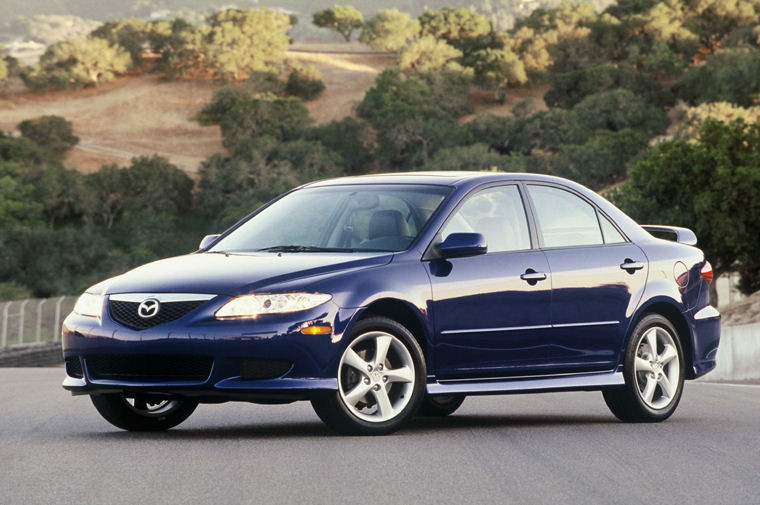 2003 mazda 6 picture pic image. Black Bedroom Furniture Sets. Home Design Ideas