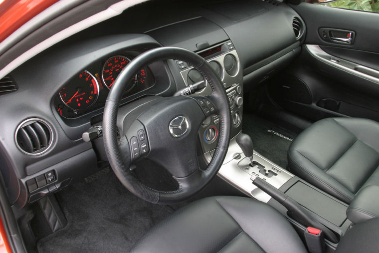 2004 Mazda 6i Sedan Interior Picture Pic Image