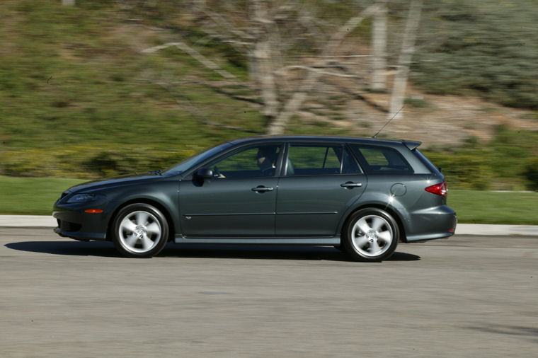2004 mazda 6s sport wagon picture pic image. Black Bedroom Furniture Sets. Home Design Ideas
