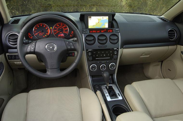 2008 mazda 6s hatchback cockpit - picture / pic / image