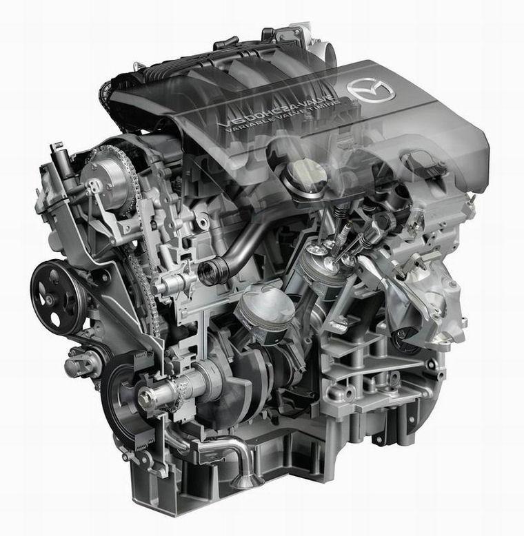 2009 Mazda 6s 3 7L V6 Engine Picture Pic Image