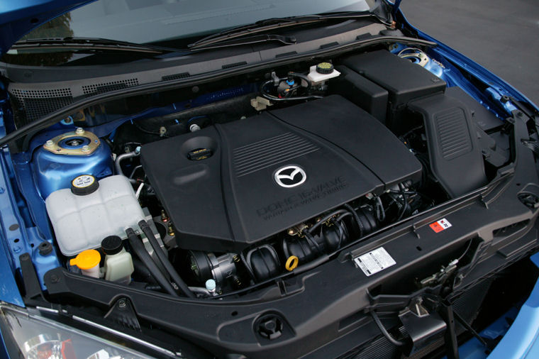 2004 mazda 3s hatchback 2 3l 4 cylinder engine picture. Black Bedroom Furniture Sets. Home Design Ideas
