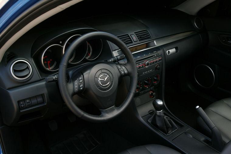 2004 Mazda 3s Hatchback Interior Picture