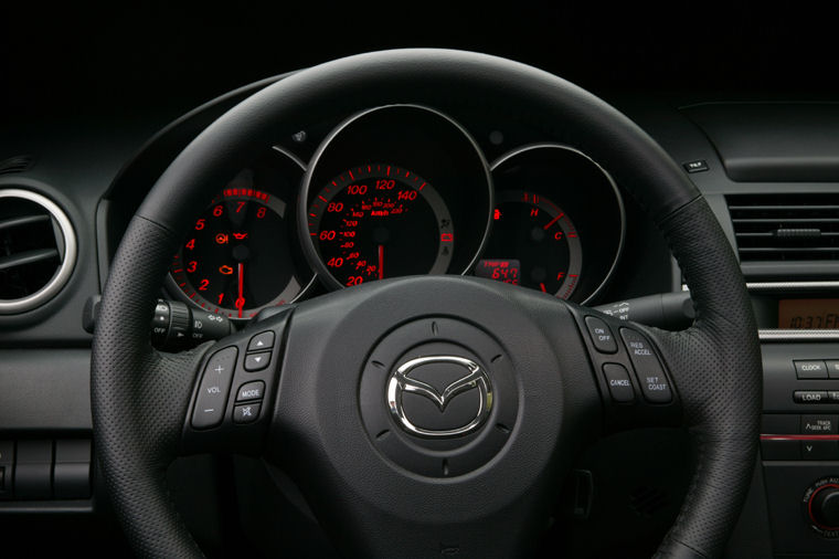 2004 Mazda 3s Hatchback Interior Picture Pic Image