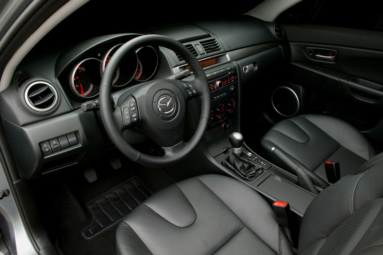 2004 mazda 3s sedan interior picture pic image. Black Bedroom Furniture Sets. Home Design Ideas