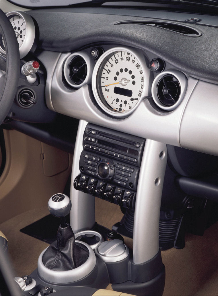 2002 Mini Cooper Dashboard Picture Pic Image