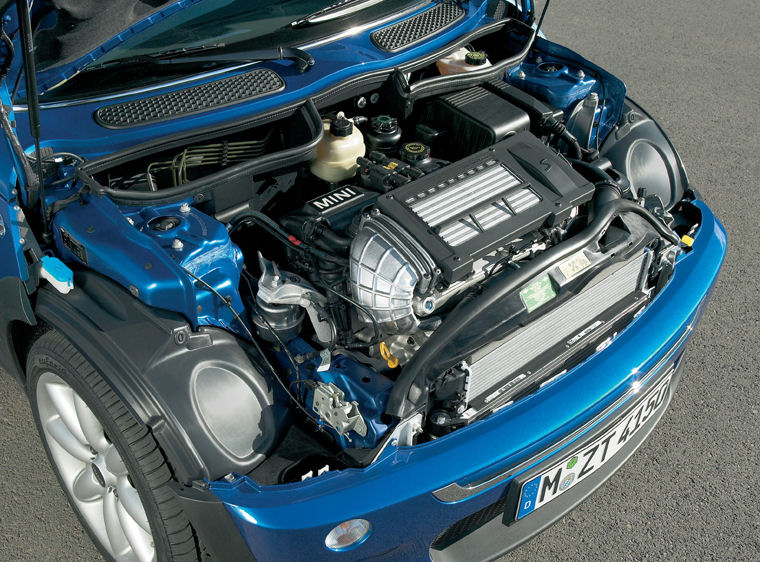 2005 mini cooper s 4 cyl supercharged engine picture pic image. Black Bedroom Furniture Sets. Home Design Ideas