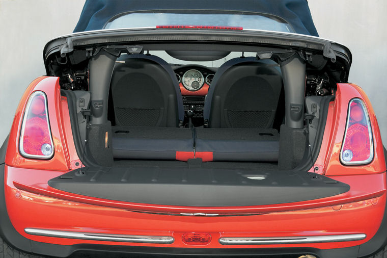 2006 mini cooper convertible trunk picture pic image. Black Bedroom Furniture Sets. Home Design Ideas