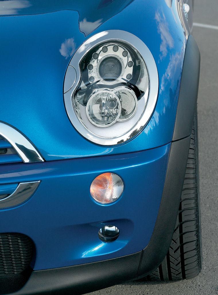 2006 mini cooper s headlight picture pic image