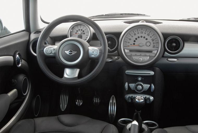 2008 Mini Cooper S Cockpit Picture Pic Image