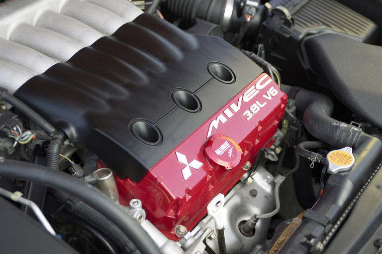 2006 Mitsubishi Eclipse Gt 38l V6 Engine Picture Pic Image