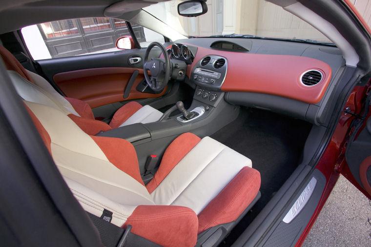 2008 Mitsubishi Eclipse Gt Interior Picture Pic Image