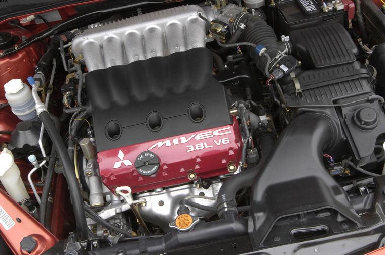 2008 Mitsubishi Eclipse SE 3.8l V6 Engine - Picture / Pic ...