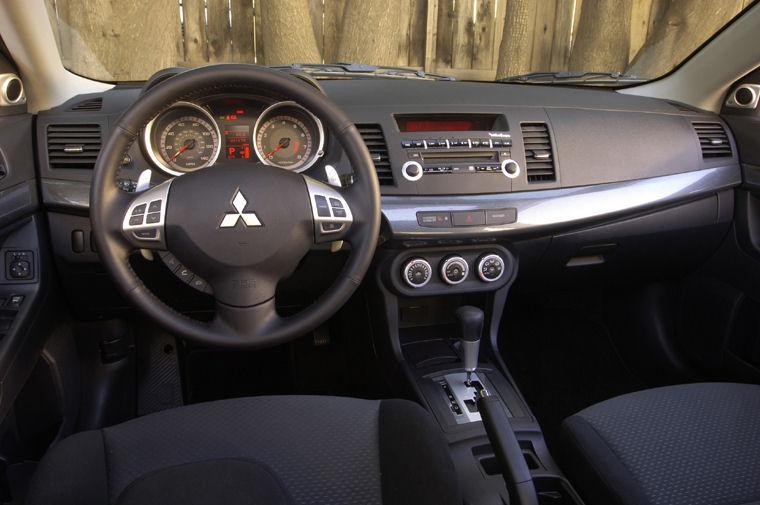 2008 mitsubishi lancer gts cockpit - picture / pic / image