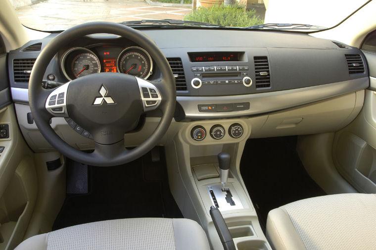 Exceptional 2008 Mitsubishi Lancer ES Cockpit Picture