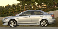 2008 Mitsubishi Lancer Reviews / Specs / Pictures