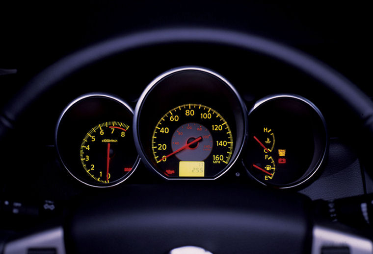 2005 Nissan Altima 3.5 SE Gauges - Picture / Pic / Image