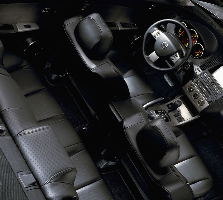 2005 Nissan Altima 35 Se Interior Picture Pic Image