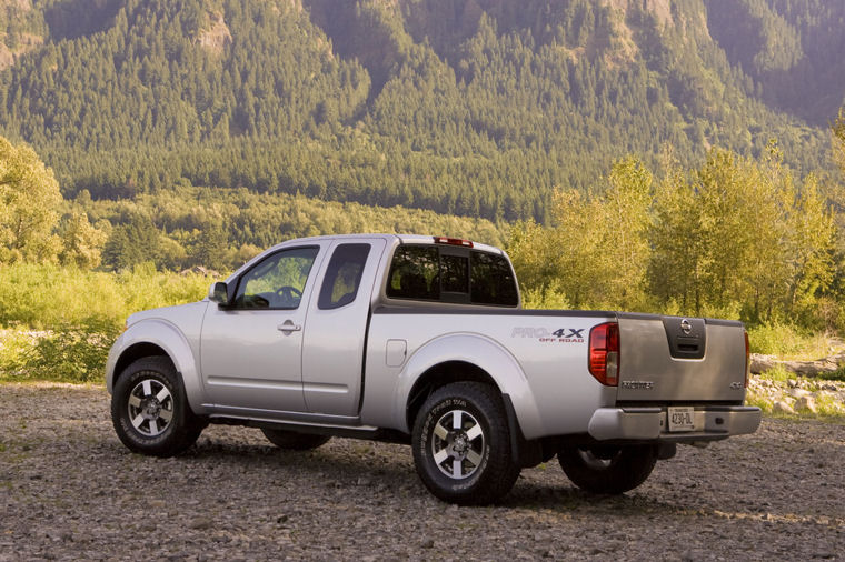 2009 Nissan Frontier King Cab Pro 4x Picture Pic Image