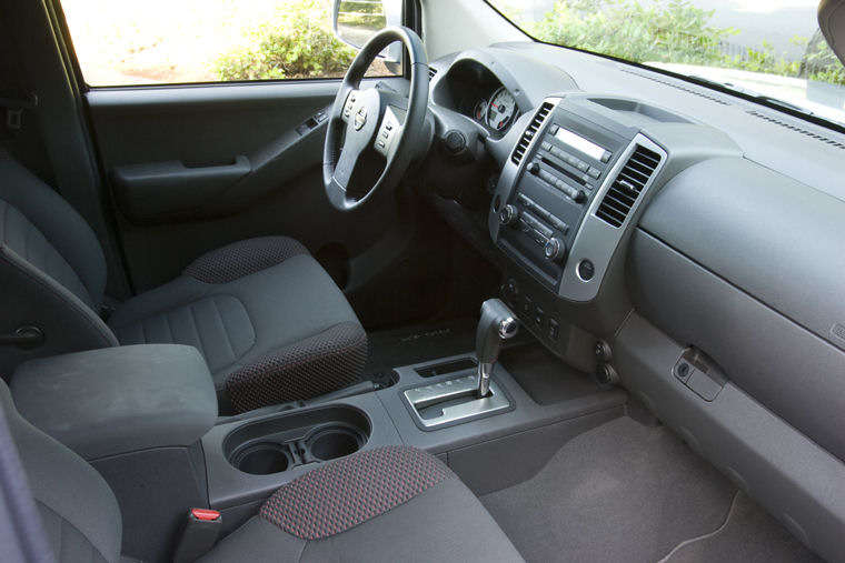 2009 Nissan Frontier King Cab Pro 4x Interior Picture Pic Image
