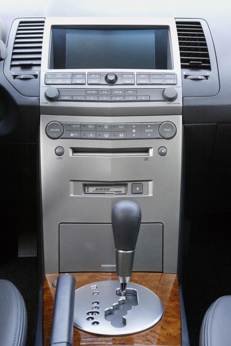 2004 Nissan Maxima Center Console Picture