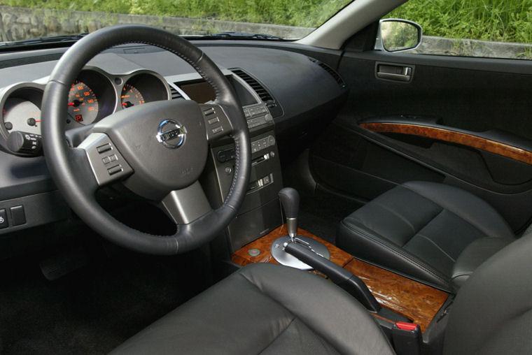 2005 Nissan Maxima Interior Picture Pic Image