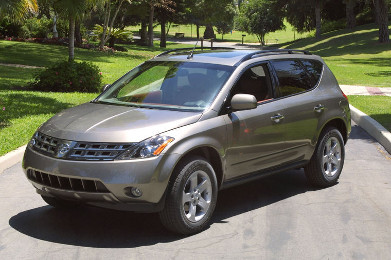 2003 nissan murano picture pic image. Black Bedroom Furniture Sets. Home Design Ideas