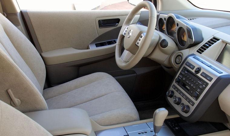 2004 Nissan Murano Interior Picture Pic Image
