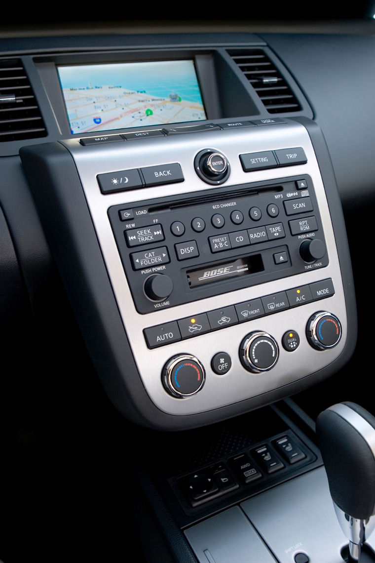 Nice 2007 Nissan Murano Center Console Picture