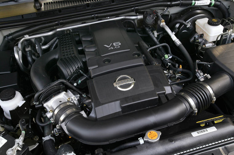 2005 nissan pathfinder se 4 0l v6 engine picture pic. Black Bedroom Furniture Sets. Home Design Ideas