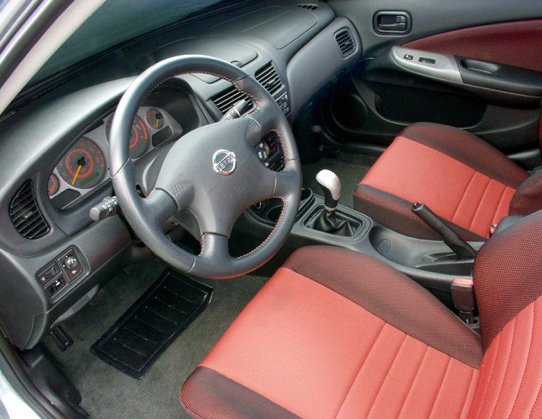 2002 Nissan Sentra Se R Interior Picture Pic Image