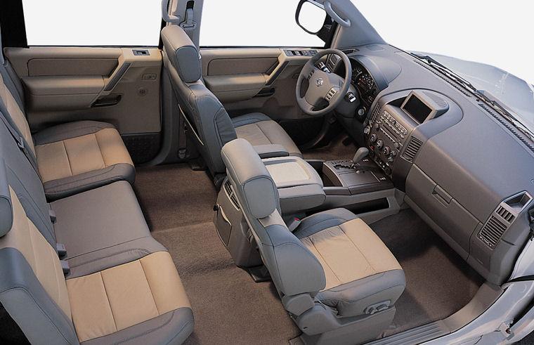 2004 Nissan Titan Crew Cab Interior Picture Pic Image