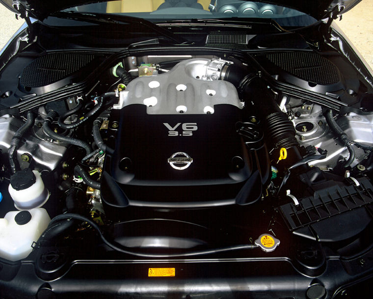 2003 nissan 350z 3 5l v6 engine picture pic image. Black Bedroom Furniture Sets. Home Design Ideas