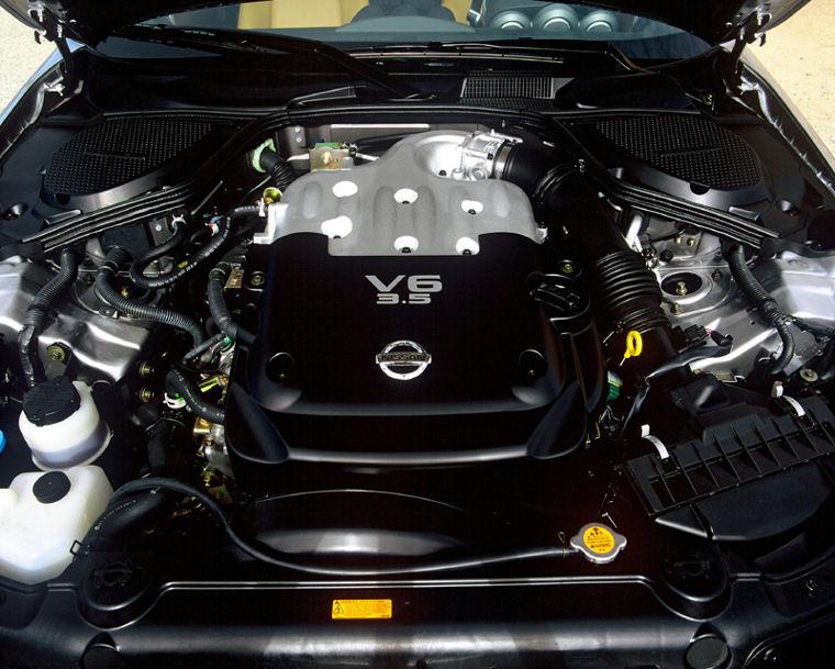 2004 Nissan 350z 3 5l V6 Engine Picture Pic Image