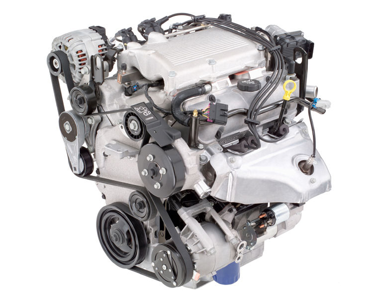 2006 Pontiac G6 3 5l 6 Cylinder Engine Picture Pic Image